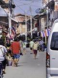 Thaïlandais à la maison de porte Photo libre de droits