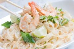 Thaïlandais thaïlandais ou Phat de garniture Photographie stock