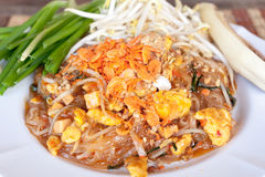 Thaïlandais thaïlandais ou Phat de garniture photo stock