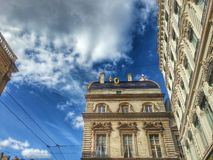 Tha building of hotel de ville of Lyon, Lyon old town, France Royalty Free Stock Photography