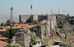 Tha Castle of Ankara. Stock Photography