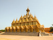 Tha gesungener goldener Tempel Stockfoto