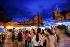 Tha-Phae gate Chiang Mai Stock Photography
