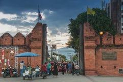 Tha-Phaetor Chiang Mai Stockfoto