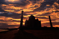 Tha Taj Mhal Obrazy Royalty Free