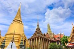 Tha Wat Phra Kaew del insdie de la pagoda Fotografía de archivo libre de regalías
