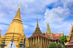 Tha Wat Phra Kaew insdie пагоды Стоковая Фотография RF
