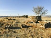 Thaba Bosiu Lesotho royaltyfria foton