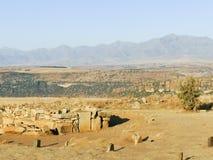 Thaba Bosiu Lesotho royaltyfri foto
