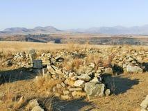 Thaba Bosiu Lesotho fotografering för bildbyråer