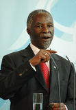 Thabo Mbeki Stock Photography