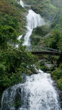 Thac Bac waterfall in Sapa, Vietnam Stock Images