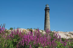 Thacher's Island, Rockport, MA. Thacher's Island Light, North Tower, Rockport, MA royalty free stock photos