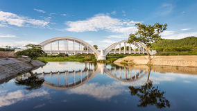 Thachompoo桥梁 库存照片