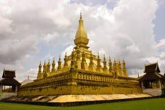 ThadLuang à Vientiane, Laos Photographie stock