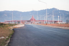 ThaiâLao przyjaźni most Wysklepiający Fourth Zdjęcia Stock