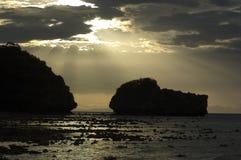 Thai. Sunset in thailand Stock Photos