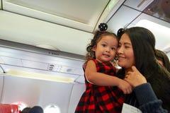 Thai AirAsia Fotografia Stock