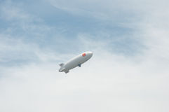 Thai airship in sky Stock Images