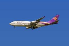 Thai Airways Boeing 747 Royalty Free Stock Image