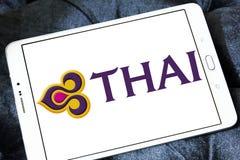 Thai Airways logo Royalty Free Stock Image