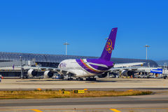 Thai Airways a Osaka, Giappone Fotografia Stock