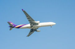 Thai Airways plane Stock Image