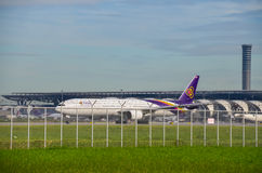 Thai Airways plant beskatta Royaltyfria Foton