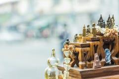 Thai amulet buddha Stock Photos