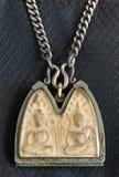 thai amulettstil Arkivbild