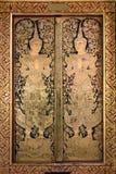 Thai ancient art Gold angel painting Stock Photo