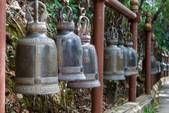 Thai ancient bell Royalty Free Stock Photos