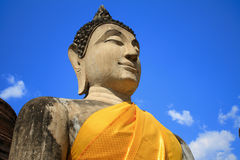 Thai ancient Buddha Royalty Free Stock Photos