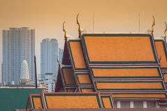 Thai ancient colorful. Located in Bangkok, Thailand Royalty Free Stock Images