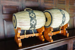 Thai ancient concert drums Royalty Free Stock Image