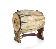 Thai ancient drum the Thai music instrument Royalty Free Stock Image
