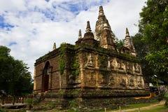 Thai Ancient Pagoda. Ancient Pagoda (Che-di) in Chiangmai, Thailand Stock Photos