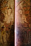 Thai ancient painting art Royalty Free Stock Image