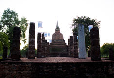 Thai ancient remains Royalty Free Stock Images