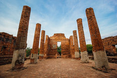 Thai ancient ruin Stock Photo