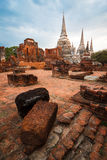 Thai ancient ruin Royalty Free Stock Images