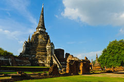Thai ancient temple Royalty Free Stock Photography