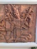 Thai angel relief Stock Image