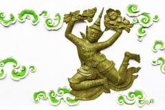 Thai angel sculpture Stock Photo