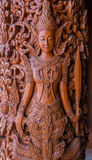 Thai angel statue Royalty Free Stock Photos