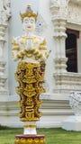 Thai angel statue in temple Stock Photos