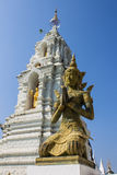 Thai angel in Wat Ban Den Stock Images
