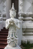Thai angel in Wat Sri Don Moon , Chiangmai Thai Temple Stock Photography