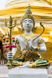 Thai angels statue in Temple Royalty Free Stock Photo