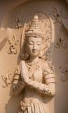 Thai angle statue Royalty Free Stock Photo